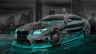 BMW-M6-Hamann-Tuning-3D-Crystal-City-Car-2015-Art-Azure-Neon-Colors-HD-Wallpapers-design-by-Tony-Kokhan-www.el-tony.com-image