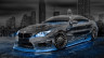 BMW-M6-Hamann-Tuning-3D-Crystal-City-Car-2015-Art-Blue-Neon-Colors-HD-Wallpapers-design-by-Tony-Kokhan-www.el-tony.com-image