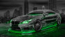 BMW-M6-Hamann-Tuning-3D-Crystal-City-Car-2015-Art-Green-Neon-Colors-HD-Wallpapers-design-by-Tony-Kokhan-www.el-tony.com-image