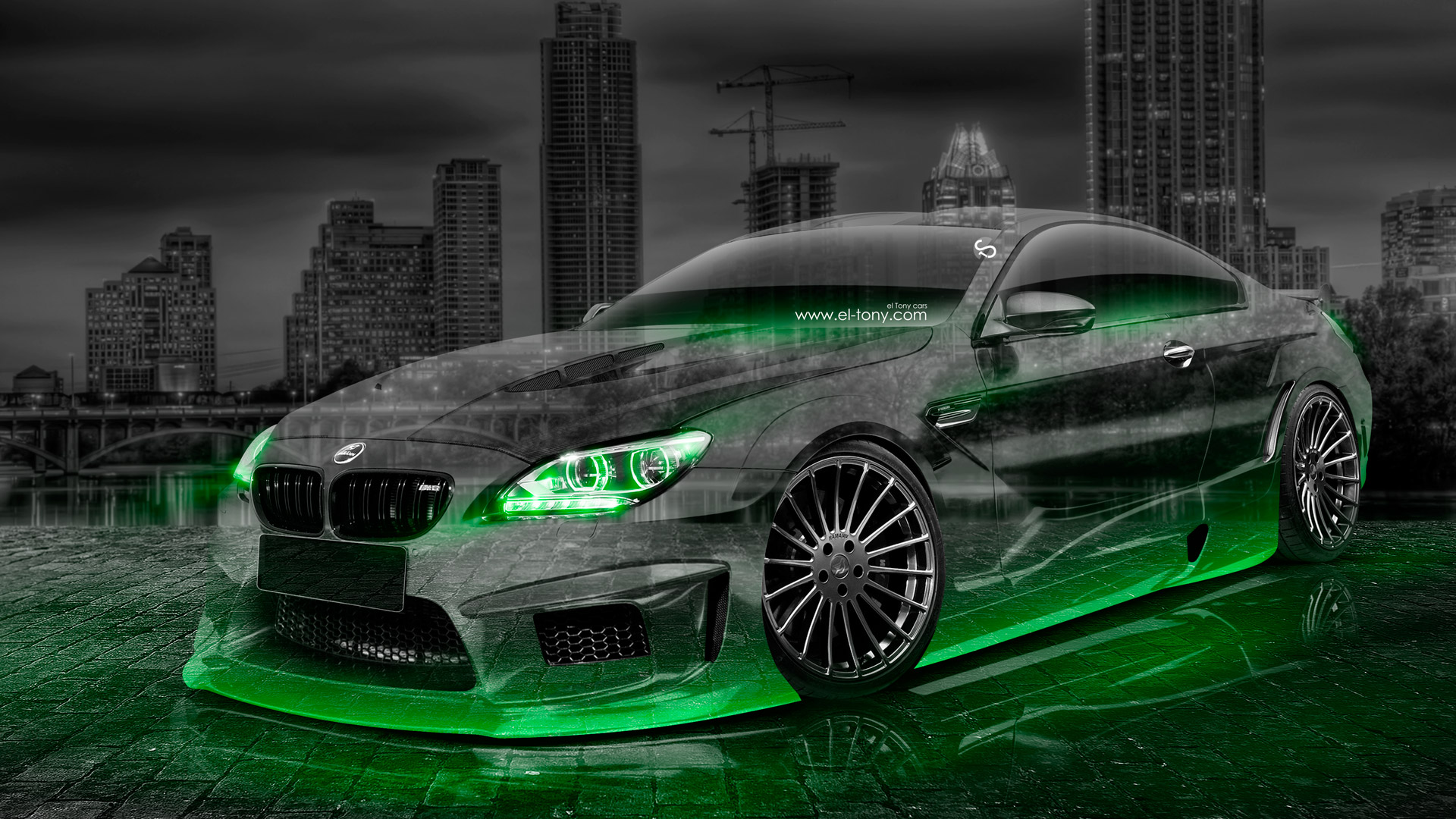 Bmw M6 Hamann Tuning Crystal City Car 2015 El Tony