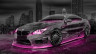 BMW-M6-Hamann-Tuning-3D-Crystal-City-Car-2015-Art-Pink-Neon-Colors-HD-Wallpapers-design-by-Tony-Kokhan-www.el-tony.com-image