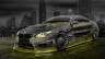 BMW-M6-Hamann-Tuning-3D-Crystal-City-Car-2015-Art-Yellow-Neon-Colors-HD-Wallpapers-design-by-Tony-Kokhan-www.el-tony.com-image