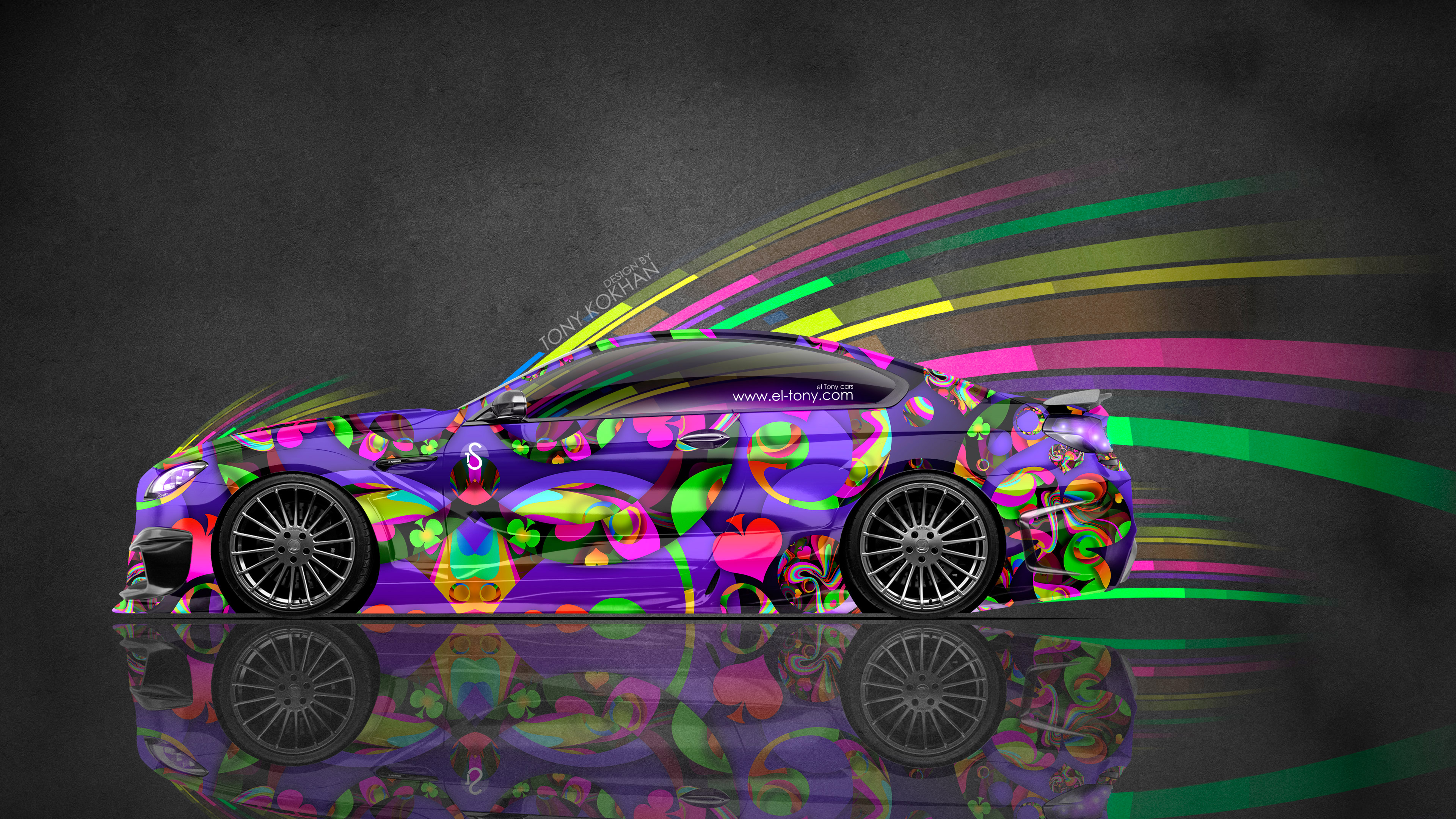 BMW-M6-Hamann-Tuning-Side-Super-Abstract-Aerography-Car-2015-Multicolors-4K-Wallpapers-design-by-Tony-Kokhan-www.el-tony.com-image