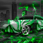 Dodge Charger Daytona Anime Bleach Aerography City Car 2015