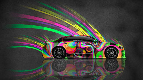 Dodge-Charger-RT-Muscle-Side-Super-Abstract-Aerography-Car-2015-Creative-Multicolors-4K-Wallpapers-design-by-Tony-Kokhan-www.el-tony.com-image