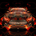 Ford Mustang Muscle Tuning Fire Abstract Car 2015