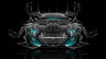 Ford-Mustang-Muscle-Tuning-FrontUp-Water-Car-2015-Azure-Neon-HD-Wallpapers-design-by-Tony-Kokhan-www.el-tony.com-image
