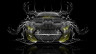 Ford-Mustang-Muscle-Tuning-FrontUp-Water-Car-2015-Yellow-Neon-HD-Wallpapers-design-by-Tony-Kokhan-www.el-tony.com-image