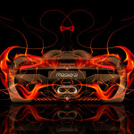 Koenigsegg Regera Back Fire Abstract Car 2015