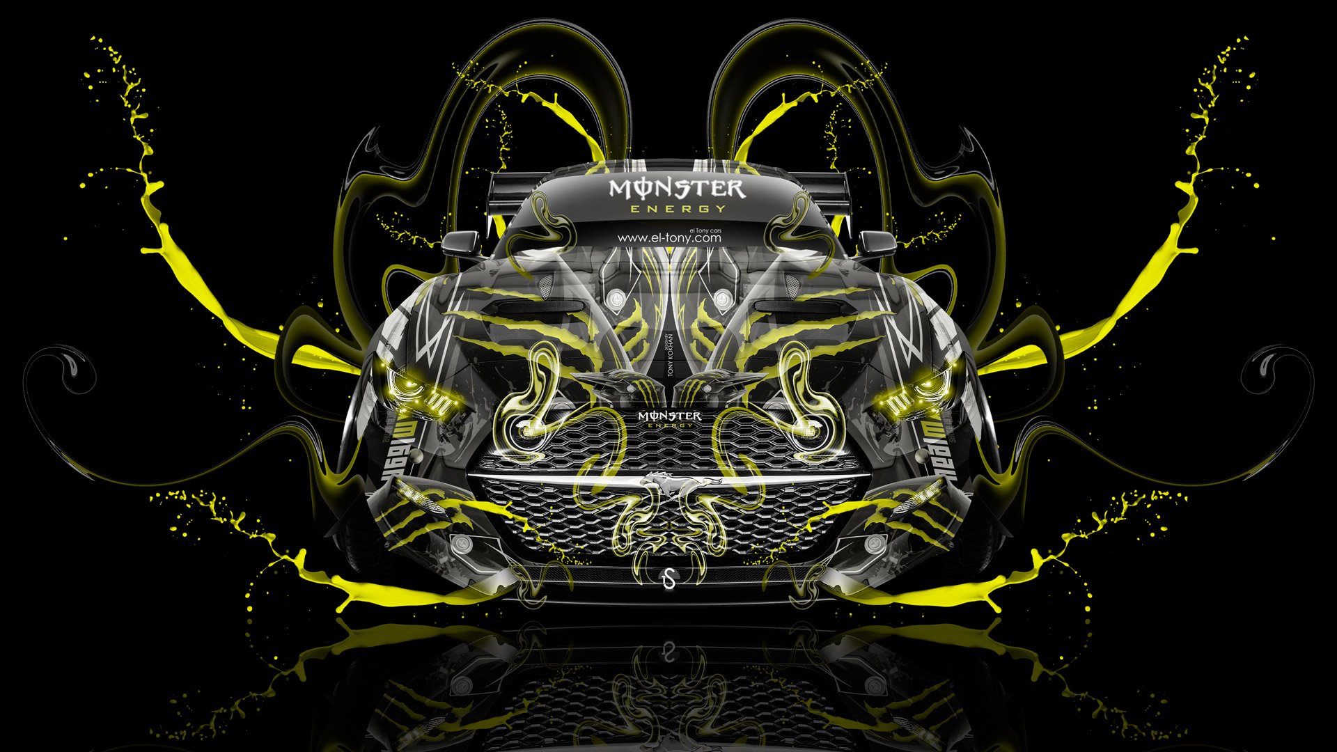Images Of Wallpapers Cars Tuning Monster Sc