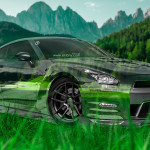 Nissan GTR R35 JDM Crystal Nature Car 2015