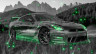 Nissan-GTR-R35-JDM-3D-Crystal-Nature-Car-2015-Art-Tinsel-Effects-Mix-Green-Neon-Colors-HD-Wallpapers-design-by-Tony-Kokhan-www.el-tony.com-image