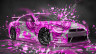 Nissan-GTR-R35-JDM-Style-3D-Super-Abstract-Aerography-Domo-Kun-Toy-Car-2015-Pink-Colors-HD-Wallpapers-design-by-Tony-Kokhan-www.el-tony.com-image