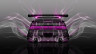 Toyota-Cresta-JZX90-Tuning-JDM-Back-Smoke-Drift-Car-2015-Pink-Neon-Effects-Colors-4K-Wallpapers-design-by-Tony-Kokhan-www.el-tony.com-image