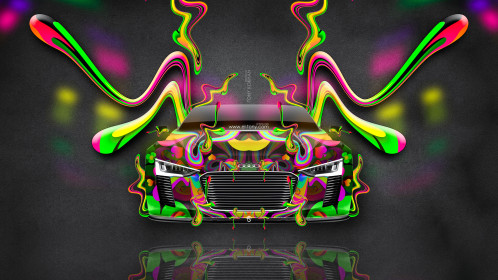 Audi-e-tron-Spyder-Front-Super-Plastic-Abstract-Aerography-Fly-Car-2015-Multicolors-4K-Wallpapers-design-by-Tony-Kokhan-www.el-tony.com-image