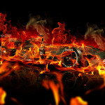 4K Wallpapers F1 Super Fire Abstract Car 2015