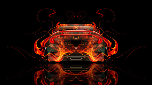 Honda-Civic-JDM-Back-Fire-Abstract-Car-2015-Original-Orange-Yellow-Black-Colors-HD-Wallpapers-design-by-Tony-Kokhan-www.el-tony.com-image