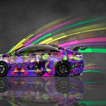 4K Toyota Camry JDM Tuning Side Super Abstract Aerography Car 2015