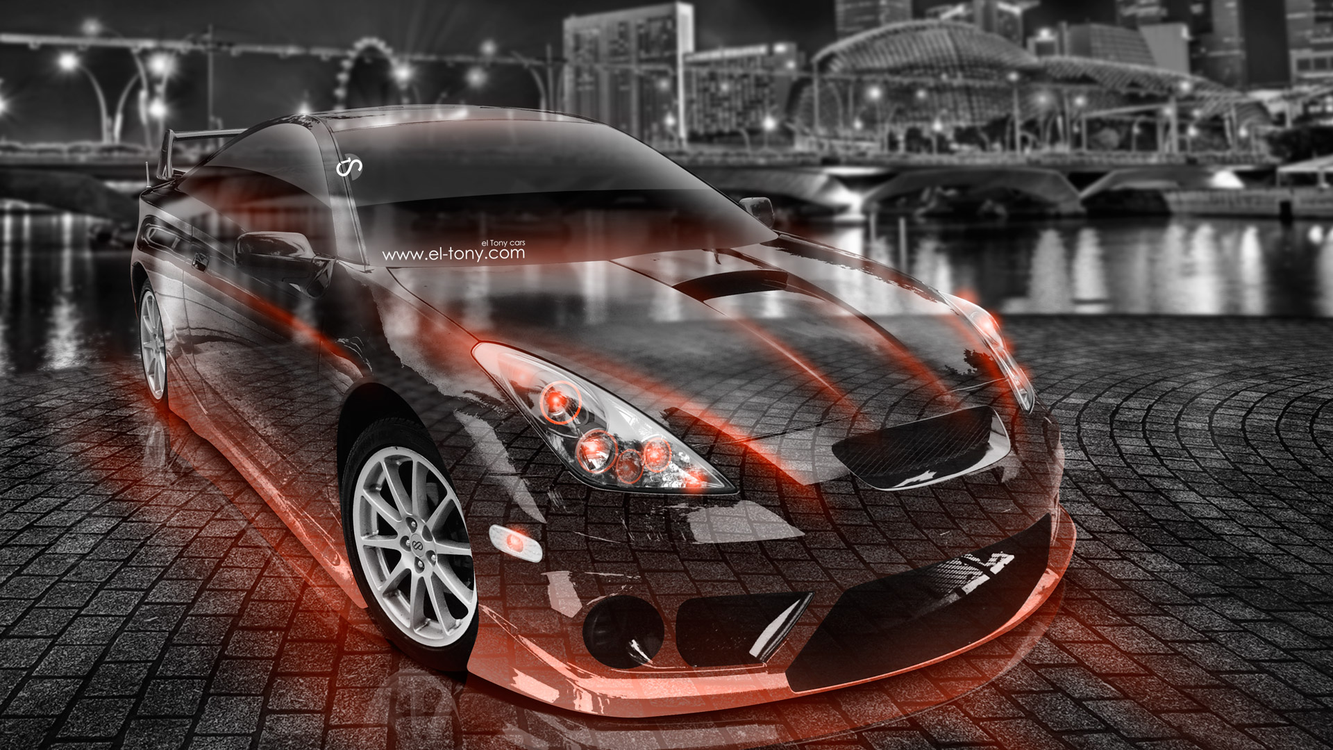 Toyota Celica JDM Tuning Crystal City Car 2015 | El Tony