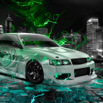 Toyota Chaser JZX100 JDM Anime Aerography City Energy Car 2015
