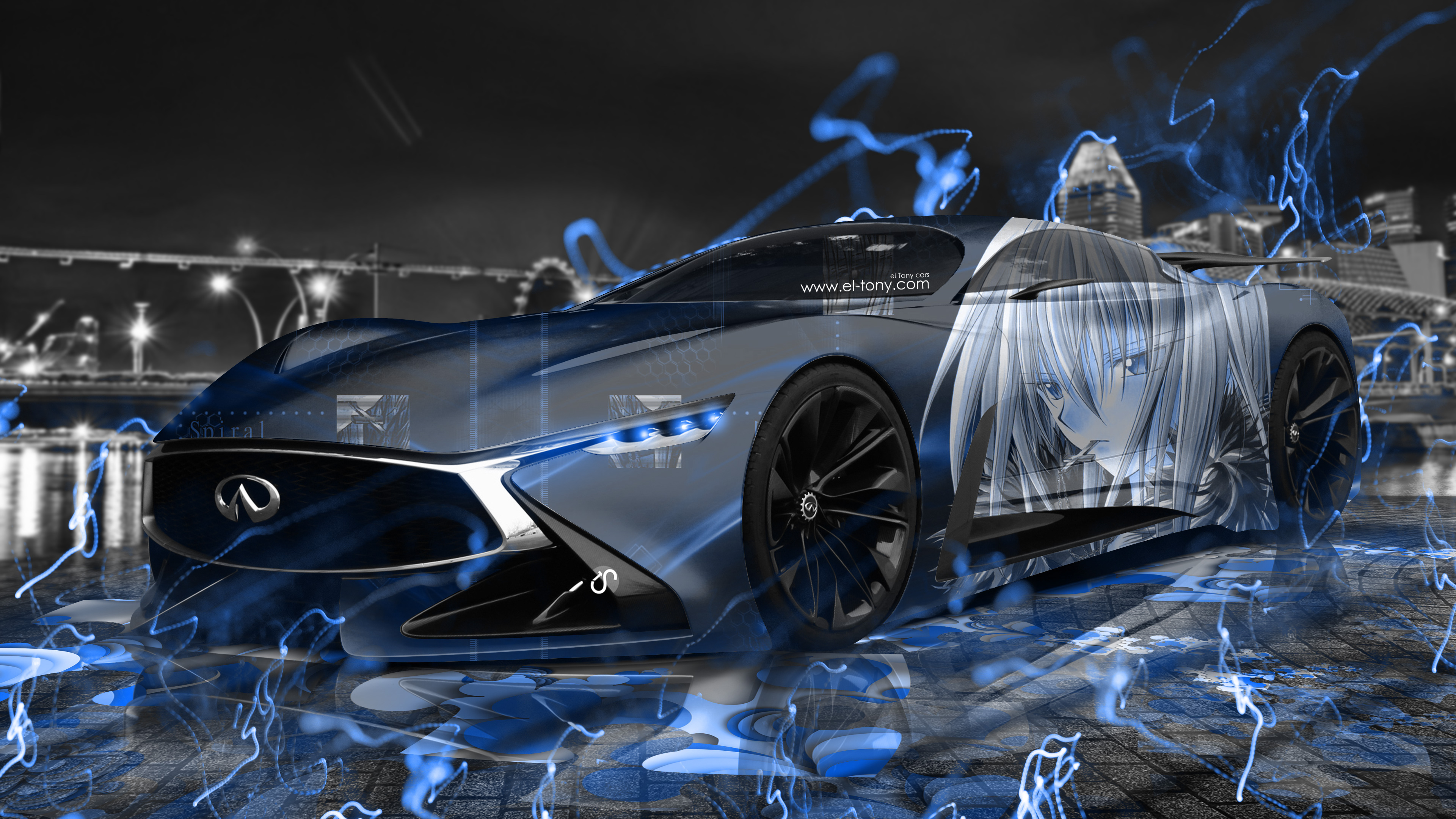 Infiniti Vision Gt Anime Boy Aerography City Energy Car