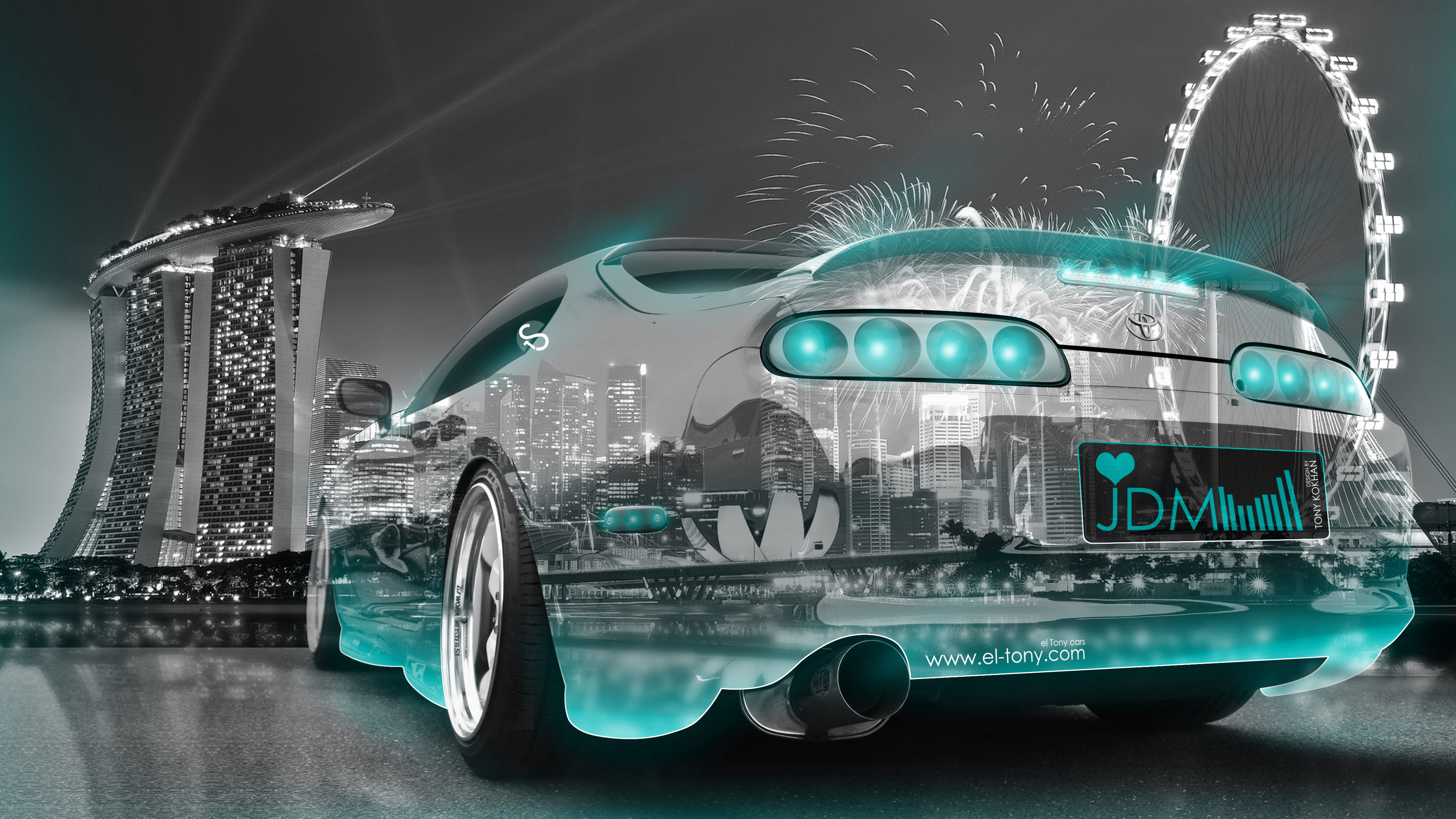 Superb ... Toyota Supra JDM Tuning 3D Super Crystal City  ... Photo Gallery