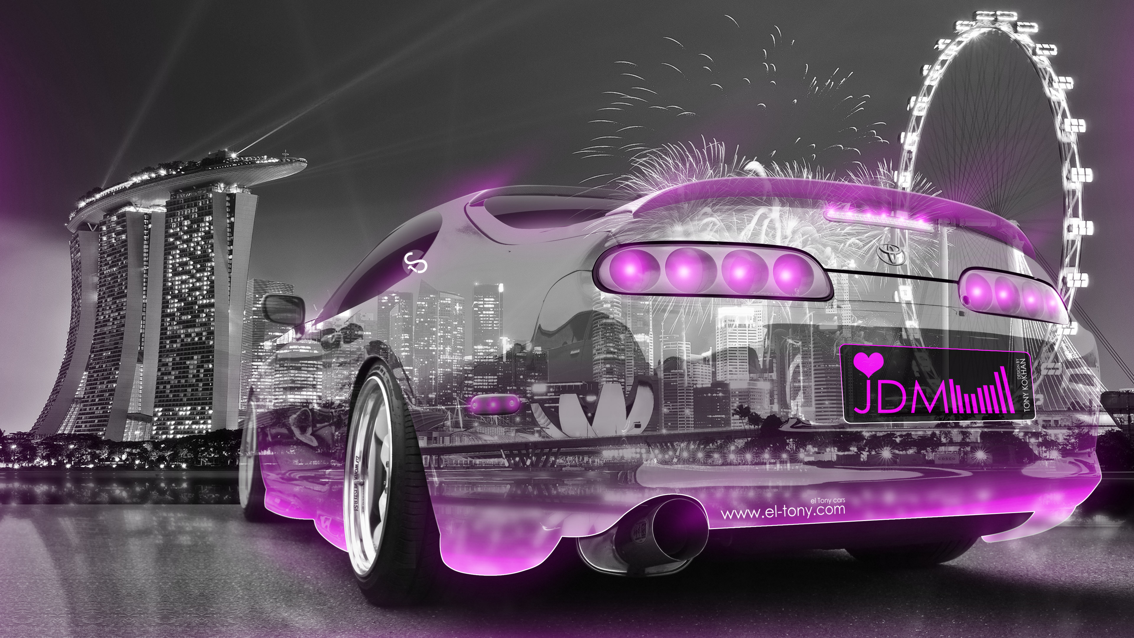 Charmant ... Toyota Supra JDM Tuning 3D Super Crystal City  ...