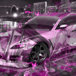 Mazda RX8 JDM Tuning Anime Girl Aerography City Energy Car 2015