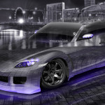 Mazda RX8 JDM Tuning Crystal City Car 2015