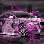 BMW M1 Tuning Anime Girl Aerography City Night Energy Car 2015