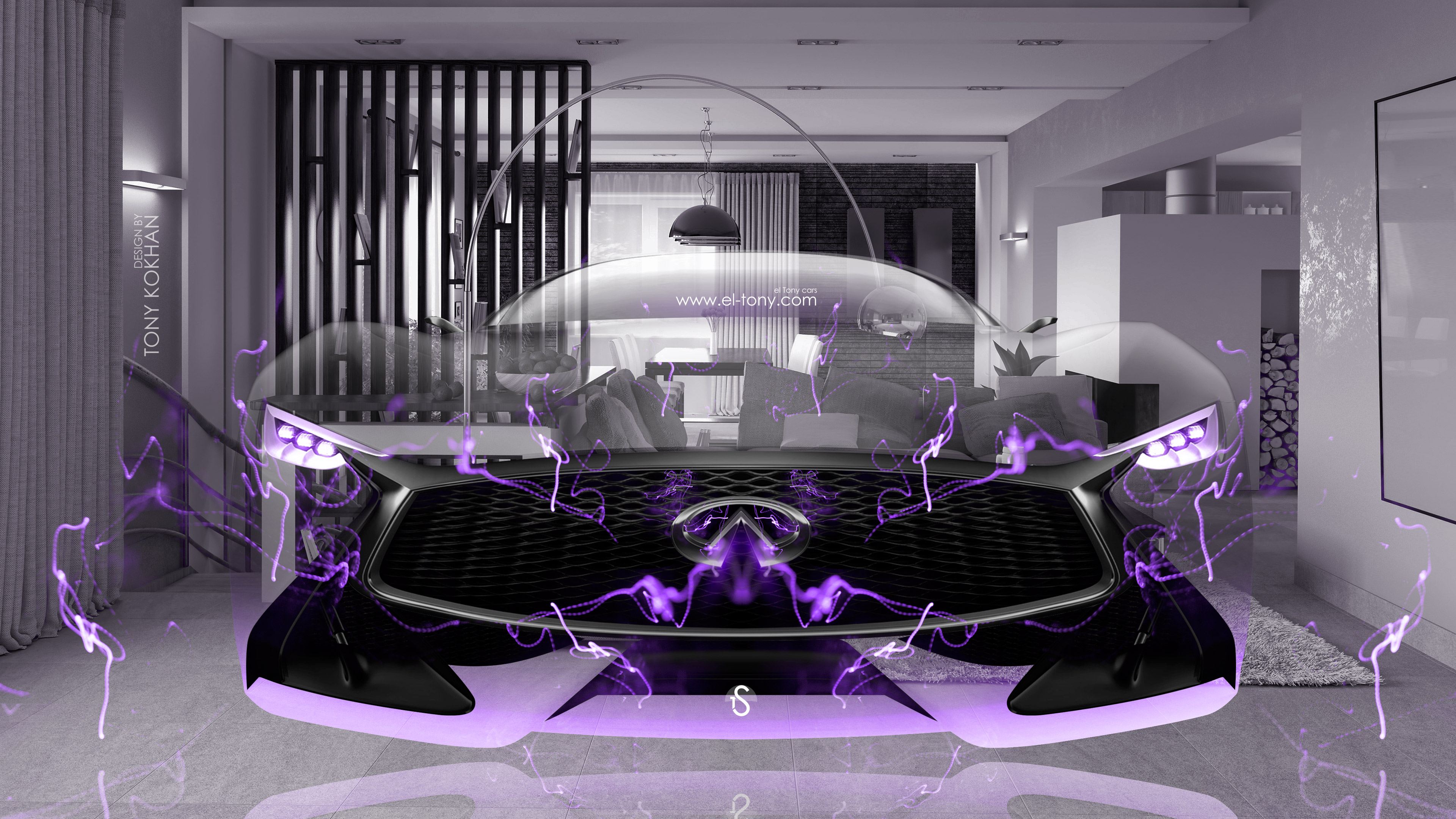 Infiniti-Vision-Gran-Turismo-Front-Fantasy-Fly-Home-Energy-Car-2015-Violet-Neon-Effects-4K-Wallpapers-design-by-Tony-Kokhan-www.el-tony.com-image