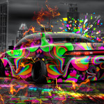 Toyota Mark2 JZX90 JDM Super Abstract City Energy Car 2015