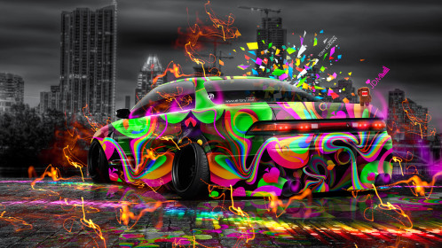Toyota-Mark2-JZX90-JDM-Tuning-3D-Super-Abstract-Aerography-City-Energy-Car-2015-Multicolors-Domo-Kun-Toy-Art-4K-Wallpapers-design-by-Tony-Kokhan-www.el-tony.com-image