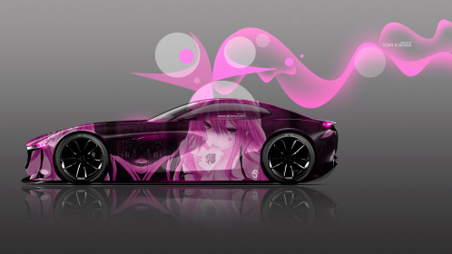 Mazda-RX-Vision-Concept-Side-Anime-Girl-Aerography-Art-Car-2015-Pink-Neon-Effects-4K-Wallpapers-el-Tony-Cars-design-by-Tony-Kokhan-www.el-tony.com-image