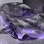 Yamaha Sports Ride Concept Fantasy Crystal Home Fly Energy Car 2015