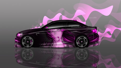 BMW-M2-Coupe-Side-Anime-Girl-Aerography-Car-2016-Pink-Colors-4K-Wallpapers-design-by-Tony-Kokhan-www.el-tony.com-image