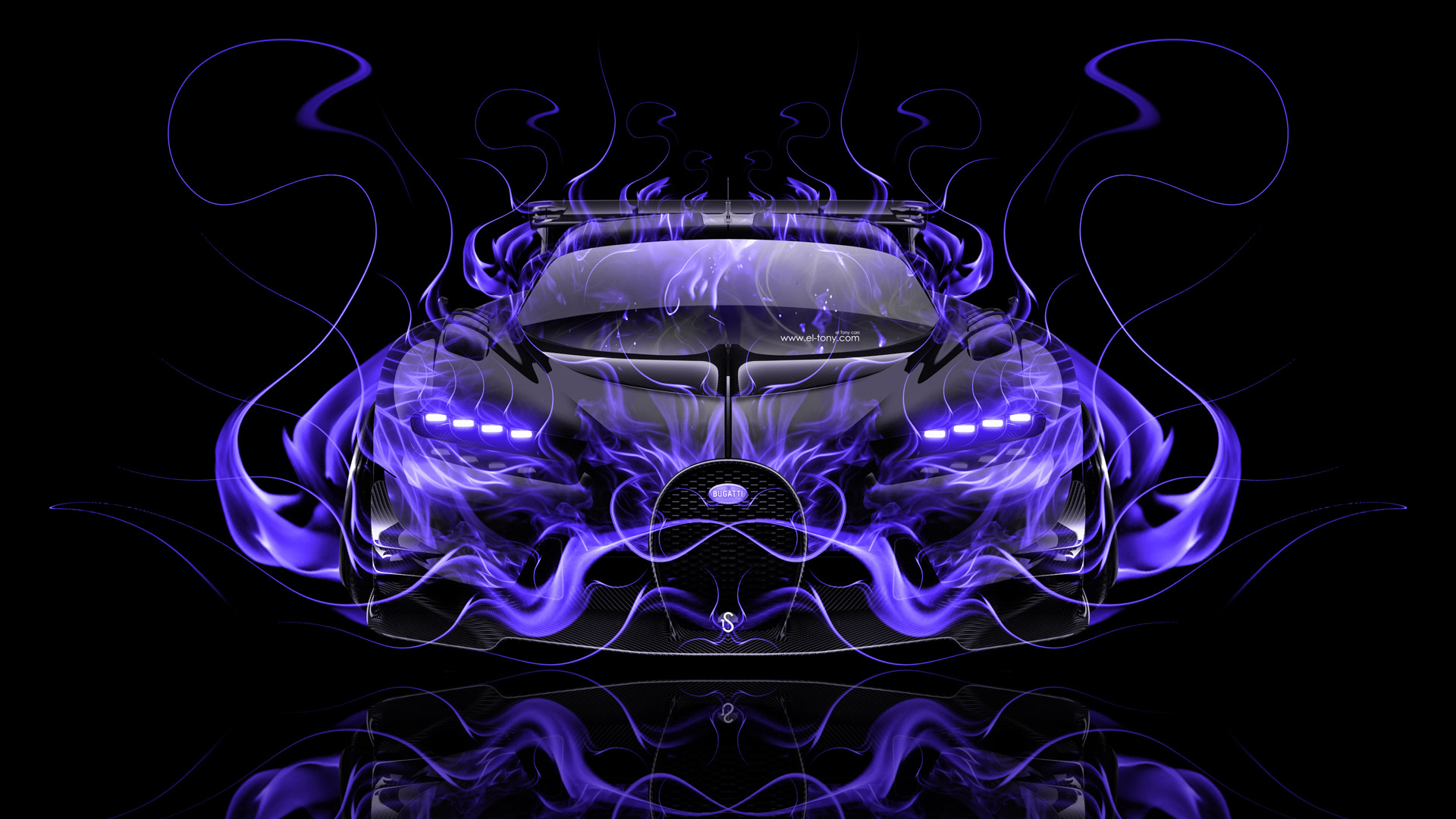 Exceptionnel Mazda RX7 VeilSide JDM Back Fire Abstract Car 2014 HD  Wallpapers Design By Tony Kokhan
