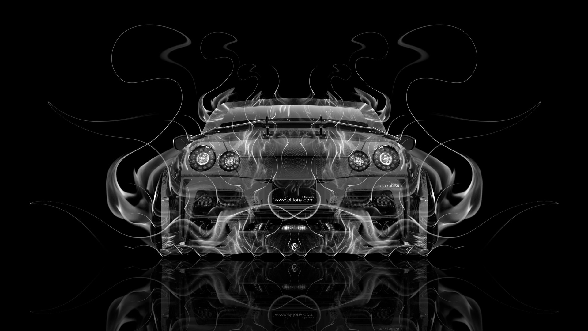 Genial Bugatti Vision Gran Turismo FrontUp Super Fire Flame Abstract Car  2016 Violet Black Colors HD Wallpapers Design By Tony Kokhan Www.el Tony.com Imagu2026