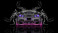 Nissan-GTR-R35-Kuhl-Tuning-Back-Super-Water-Splashes-Car-2016-Fantasy-Pink-Violet-Neon-Colors-HD-Wallpapers-design-by-Tony-Kokhan-www.el-tony.com-image
