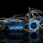 Bugatti Vision Gran Turismo Side Super Water Car 2016