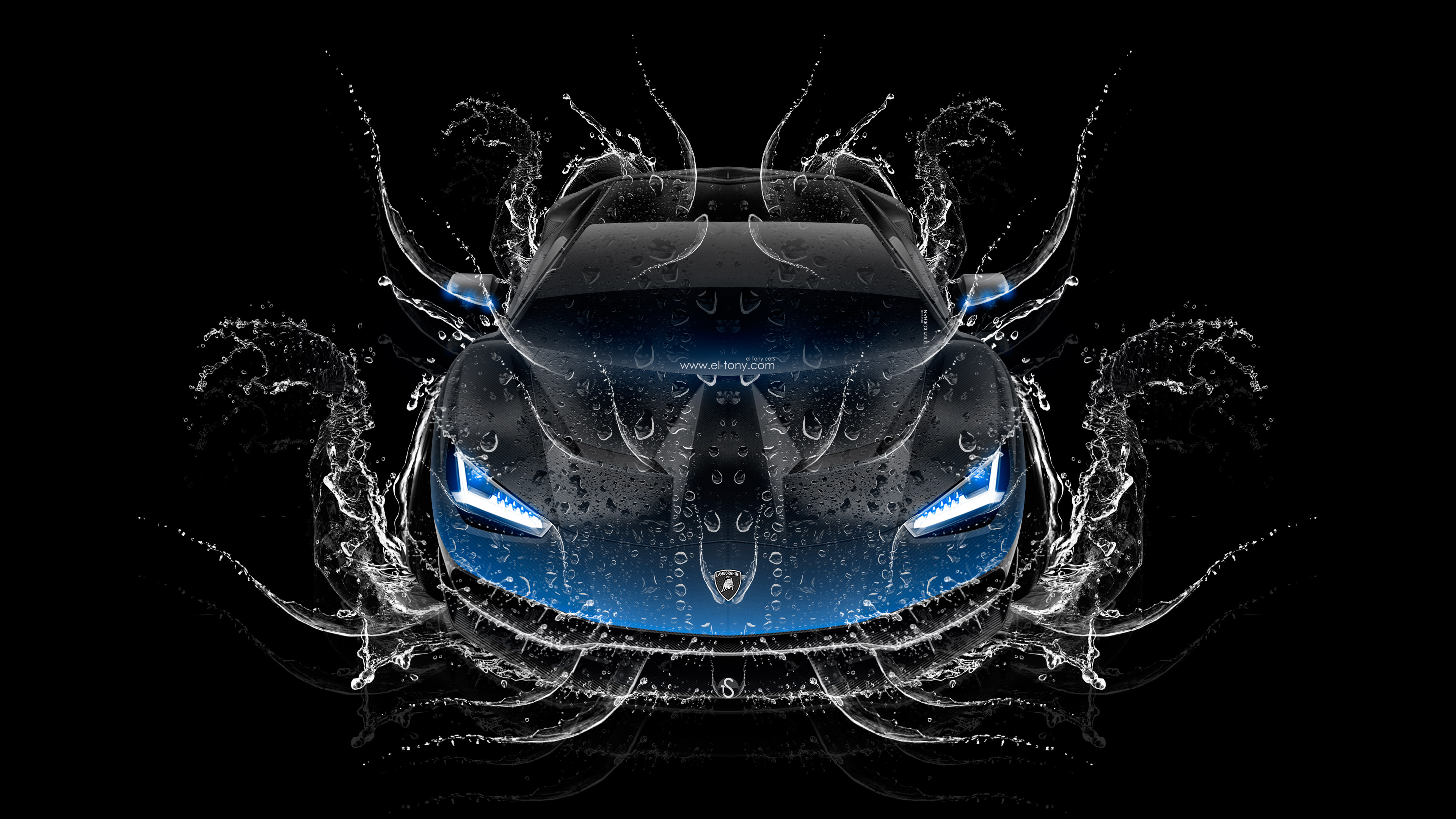 Delicieux Lamborghini Centenario FrontUp Super Water Car 2016 Wallpapers 4K