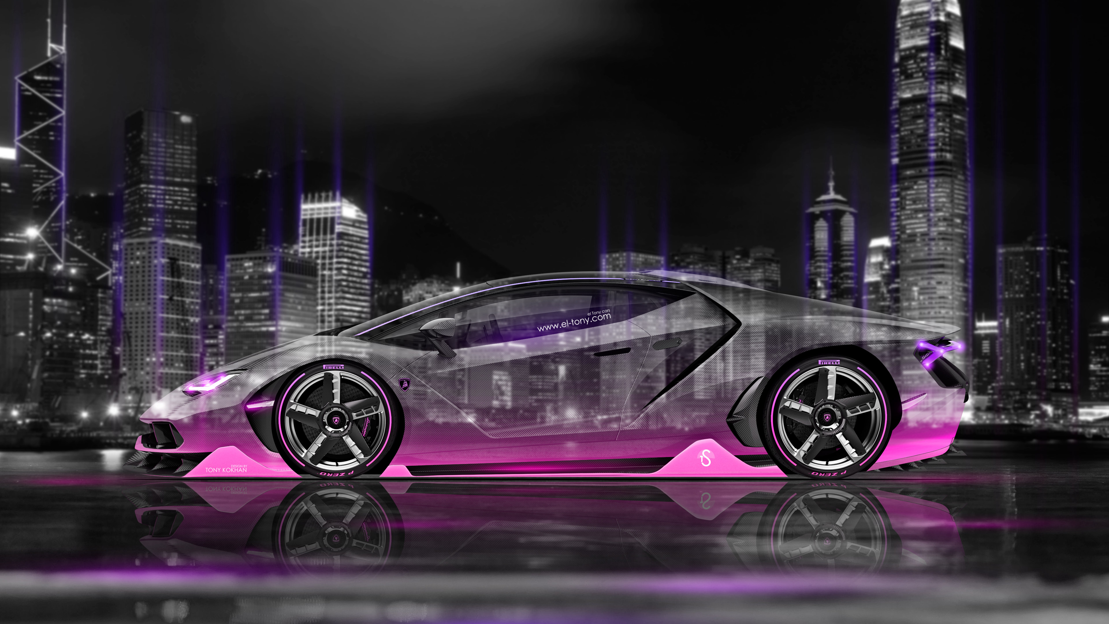 download pink lamborghini 4k - photo #4