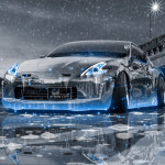 Nissan 370Z Tuning Crystal City Ice Snow Car 2016 Wallpapers 4K