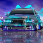 Toyota Chaser JZX100 JDM Tuning Anime Bleach City Night Car 2016