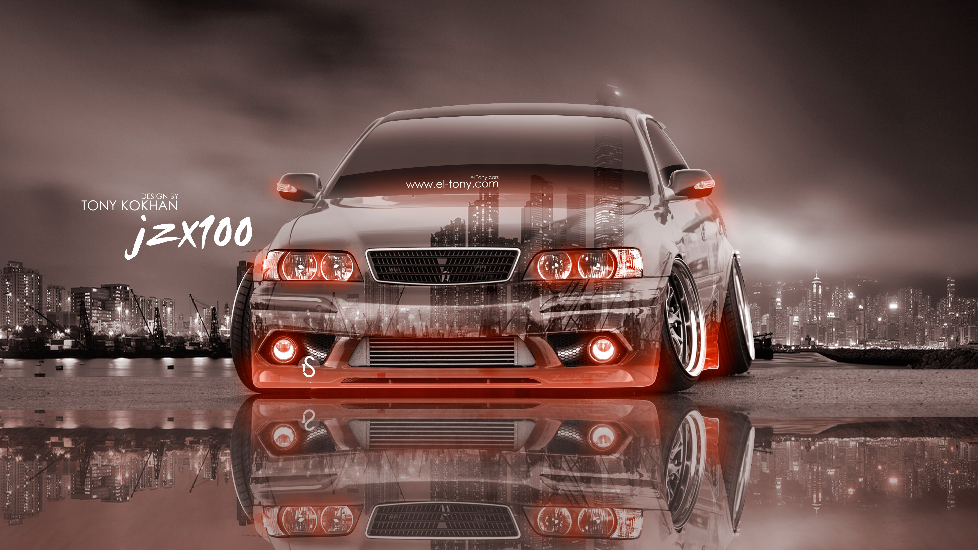 toyota chaser tuning blue toyota chayzer blue HD wallpaper