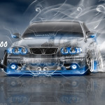 Toyota Chaser JZX100 JDM Tuning Crystal City Smoke Drift Car 2016