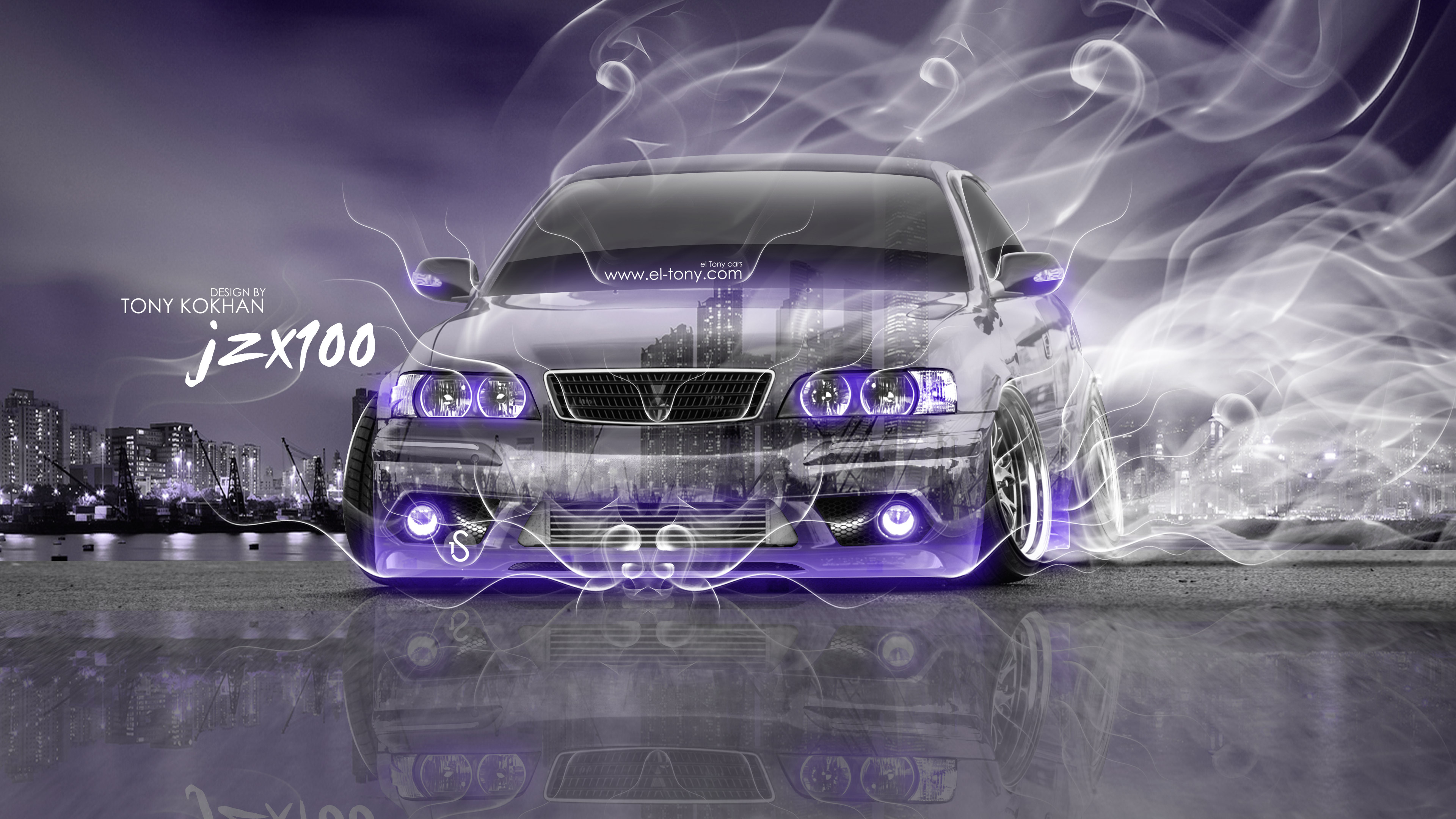 Exceptional ... Toyota Chaser JZX100 JDM Tuning 3D Crystal City  ...