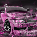 Toyota Mark2 JZX90 JDM Anime Girl Aerography City Energy Car 2016