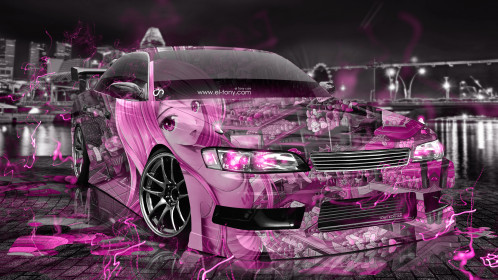 Toyota-Mark2-JZX90-JDM-Tuning-3D-Anime-Girl-Aerography-City-Night-Energy-Car-2016-Pink-Neon-Colors-4K-Wallpapers-design-by-Tony-Kokhan-www.el-tony.com-image