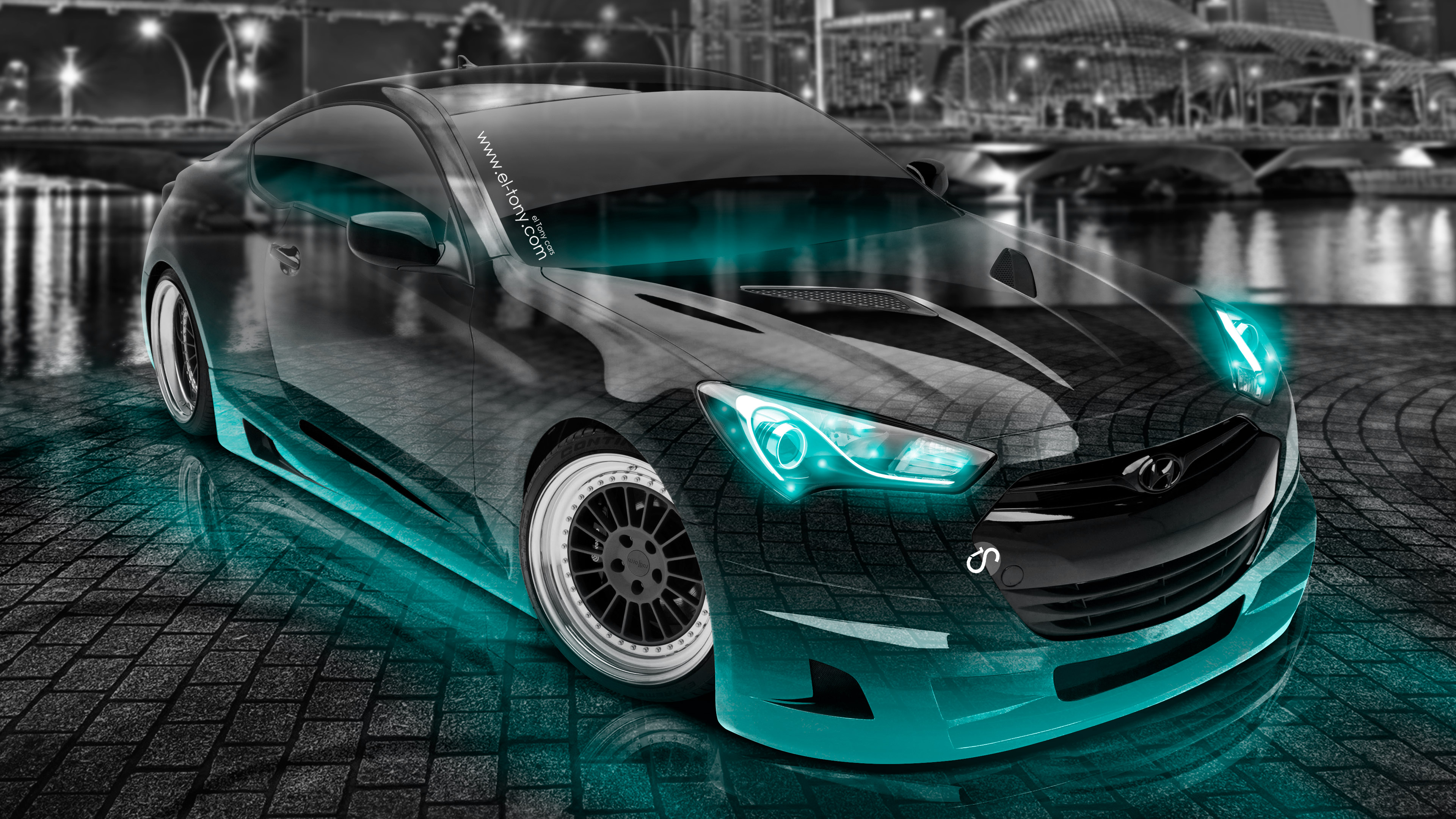 R35 | El Tony Nissan GTR R35 Front Fire Crystal City Car 2014 | El Tony